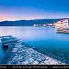 Europe - Croatia - Hrvatska - Dalmatia - Vinjerac - Charming old town in front of Velebit mountain national park