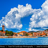 Europe - Croatia - Hrvatska - Central Dalmatia - Adriatic Coast - Murter Island - Tisno - Marine Dalmatian Town on Adriatic Sea Coast