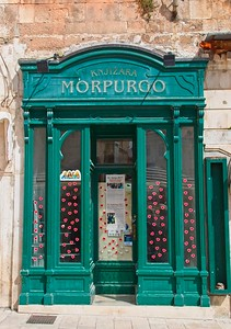 The Oldest Bookshop, Split, Croatia