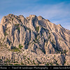 Europe - Croatia - Hrvatska - Dalmatia - Velebit mountain national park - Tulove Grede - Tulo - Tulovice - Unique karst rock formation with its highest peak 1,120 m above sea level
