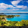 Europe - Croatia - Hrvatska - Dalmatia - Drage - Pittoresque town on Adriatic Sea Coast