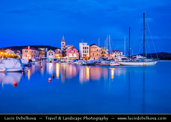 Europe - Croatia - Hrvatska - Central Dalmatia - Adriatic Coast - Pirovac - Old coastal village situated in Bay of Pirovac