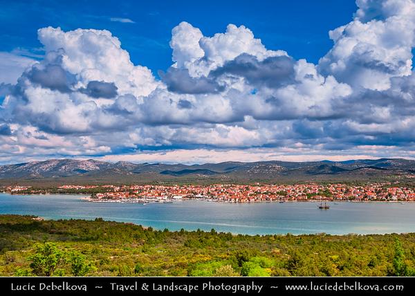 Europe - Croatia - Hrvatska - Central Dalmatia - Pirovac - Historical old town situated on Adriatic Sea Coast