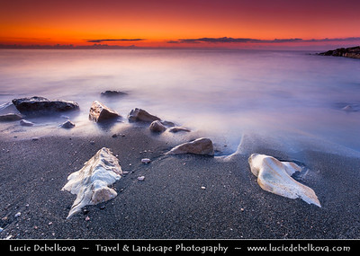 Cyprus - Κύπρος - Kýpros - The third largest island in the Mediterranean Sea - Limassol - Sunrise at the beach