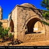 Europe - Cyprus - Κύπρος - Kýpros - Third largest island in Mediterranean Sea - Ayia Napa - Agia Napa - Αγία Νάπα - Ayia Napa Monastery - Medieval Monastery with Venetian Fountain & Greek orthodox church