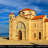 Europe - Cyprus - Κύπρος - Kýpros - Third largest island in Mediterranean Sea - West Coast - Region of Paphos - Πάφος - Pafos - Baf - Agios Georgios Pegeia - Traditional Greek Orthodox Church