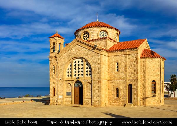 Europe - Cyprus - Κύπρος - Kýpros - Third largest island in Mediterranean Sea - West Coast - Region of Paphos - Πάφος - Pafos - Baf - Agios Georgios Pegeia - Traditional Greek Orthodox Church