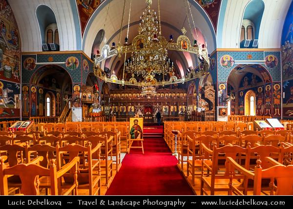 Europe - Cyprus - Κύπρος - Kýpros - Third largest island in Mediterranean Sea - East coast - Paralimni - Agios Georgios Church - Saint George Church - Traditional Greek Orthodox Church