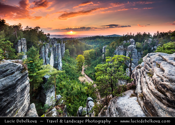 Europe - Czech Republic - Bohemia - Bohemian Paradise - Český