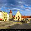 Europe - Czech Republic - Czechia - Jižní Morava - South Moravia - Znojmo - Historical walled town in winemaking region