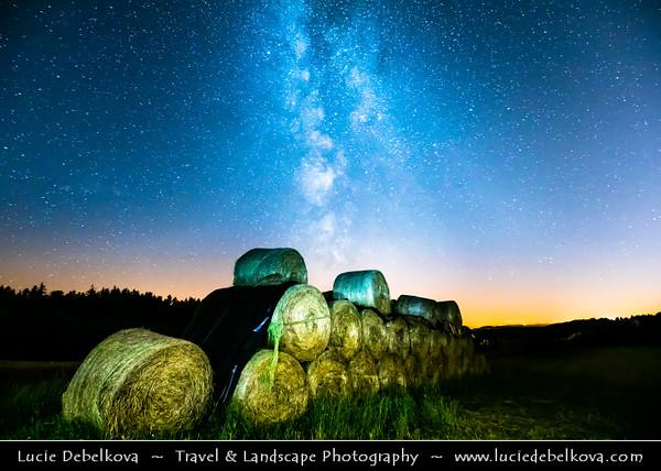 Europe - Czech Republic - Bohemia - Night Sky with Milky Way