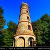 Europe - Czech Republic - Bohemia - Čechy - Ústecký kraj - Ústí nad Labem Region - Lužické hory - Lusatian Mountains - Jedlová (774 m) - One of important peaks with iconic lookout tower