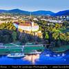 Europe - Czech Republic - Bohemia - Čechy - Ústí nad Labem Region - Děčín - Děčín Castle - Built on a hill near the town centre and overlooking the Labe river - Most popular tourist attraction in the town