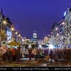 Czech Republic - Prague - Praha - Capital City - Hlavni Mesto - Traditional Christmas Markets at Wenceslas Square - Václavské náměstí (Václavák)