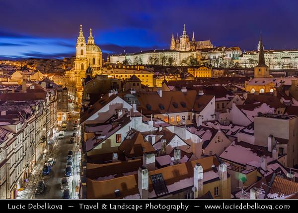 Europe - Czech Republic - Bohemia - Prague - Praha - Capital City - Historical Centre - Prague Old Town - Staré Město Pražské - UNESCO World Heritage Site - Prague Castle - Pražský hrad