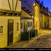 Europe - Czech Republic - Bohemia - Prague - Praha - Capital City - Historical Centre - Prague Old Town - Staré Město Pražské - UNESCO World Heritage Site - Prague Castle - Pražský hrad & Golden Lane - Zlatá ulička