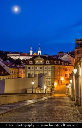 Europe - Czech Republic - Bohemia - Prague - Praha - Capital City - Historical Centre - Prague Old Town - Staré Město Pražské - UNESCO World Heritage Site - Prague Castle - Pražský hrad - Surrounding area