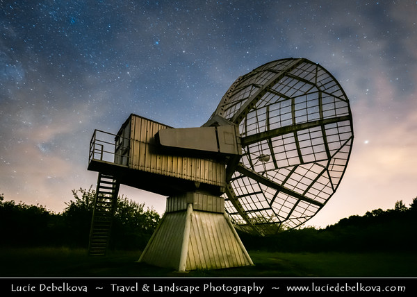 Europe - Czech Republic - Czechia - Bohemia - Čechy - Prague - Praha Surrounding - Ondrejov Observatory - Principal observatory of the Astronomical Institute (Astronomický ústav) of the Academy of Sciences of the Czech Republic
