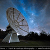 Europe - Czech Republic - Czechia - Bohemia - Ondrejov Observatory - Principal observatory of the Astronomical Institute (Astronomický ústav) of the Academy of Sciences of the Czech Republic - Night sky with Milky Way