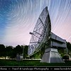 Europe - Czech Republic - Czechia - Bohemia - Ondrejov Observatory - Principal observatory of the Astronomical Institute (Astronomický ústav) of the Academy of Sciences of the Czech Republic - Star Trails