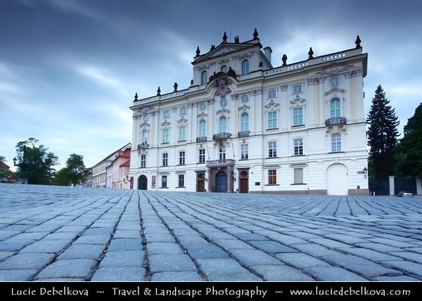 Czech Republic - Prague - Praha - Capital City - Hlavni Mesto - Evening at Prague Castle - Pražský hrad