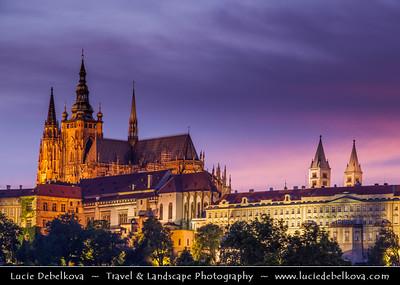 Europe - Czech Republic - Bohemia - Prague - Praha - Historical Centre - Prague Old Town - Staré Město Pražské - UNESCO World Heritage Site - Prague Castle - Pražský hrad