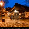Europe - Czech Republic - Bohemia - Prague - Praha - Historical Centre - Prague Old Town - Staré Město Pražské - UNESCO World Heritage Site - Hradčany - Castle District - Nový Svět - New World - Picturesque, charming and quiet quarter dating back to the 14th century at Dusk - Twilight - Blue Hour - Night