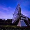 Europe - Czech Republic - Czechia - Bohemia - Čechy - Prague - Praha Surrounding - Ondrejov Observatory - Principal observatory of the Astronomical Institute (Astronomický ústav) of the Academy of Sciences of the Czech Republic - Dusk - Twilight - Blue Hour - Night