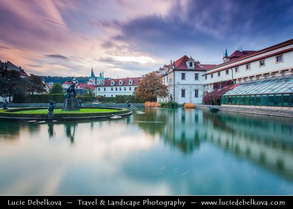 Europe - Czech Republic - Bohemia - Prague - Praha - Capital City - Historical Centre - Prague Old Town - Staré Město Pražské - UNESCO World Heritage Site - Valdštejnská zahrada - Wallenstein Garden