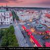 Europe - Czech Republic - Bohemia - Prague - Praha - Historical Centre - Prague Old Town - Staré Město Pražské - UNESCO World Heritage Site - Old Town Square - Staroměstské náměstí - Easter Market - Velikonoční trhy