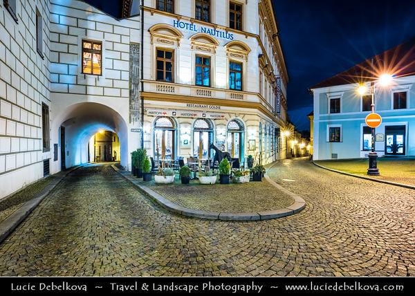Europe - Czech Republic - Czechia - Česko - South Bohemian Region - Jižní Čechy - Tábor - Historical town centre - Žižkovo Náměstí - Žižka's square