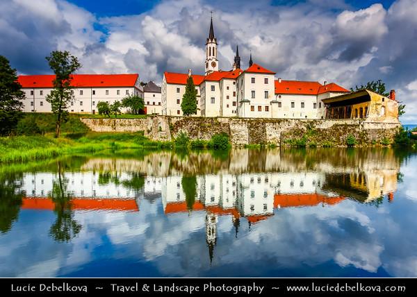 Europe - Czech Republic - South Bohemian Region - Klášter Vyšší Brod - Vyšší Brod Monastery - One of the most important historical landmarks of South Bohemia - Cistercian monastery located on the right bank of Vltava river founded in 1259