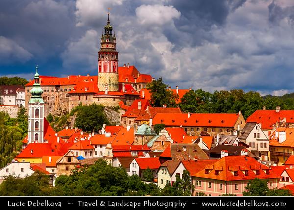 Europe - Czech Republic - South Bohemian Region - Český Krumlo