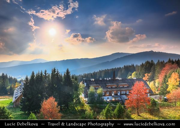 Europe - Czech Republic - Czechia - South Bohemian Region - Jižní Čechy - Šumava Národní park - Sumava National Park - Bohemian Forest National Park - UNESCO protected biosphere reserve - Spicak Mountain Area
