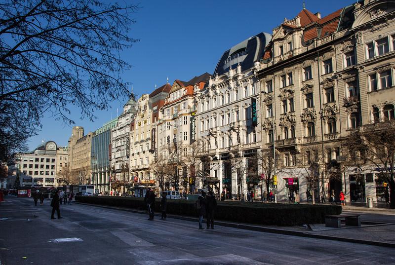 Wenceslas Square<br /> Prague