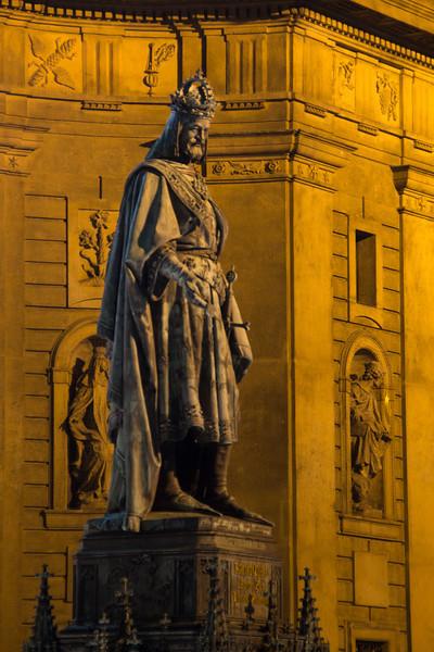 King Charles statue<br /> Prague