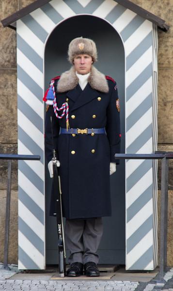 Guard, Prague Castle<br /> Prague