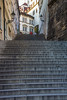 Steps, top of Nerudova<br /> Prague