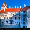 Europe - Czech Republic - Czechia - Bohemia - Brandýs Nad Labem Zámek - Medieval castle/chateau in Renaissance style located on left side of river Elbe - Labe