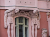 Detail, near the Spanish Synagogue<br /> Prague