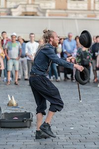 The Busker Sven the Swede, Old Town Square