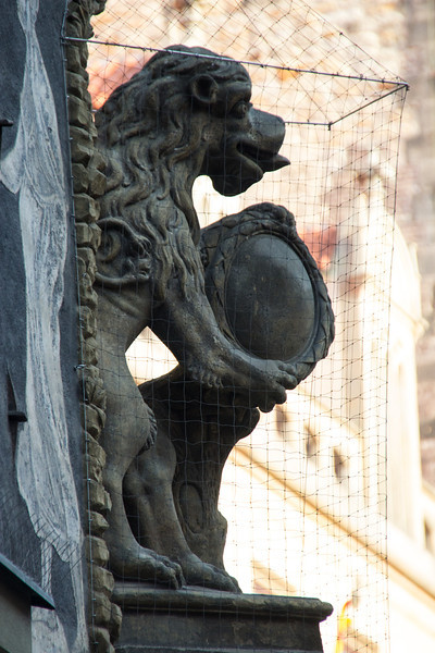 Detail, Old Town Square<br /> Prague