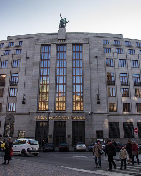 Czech National Bank<br /> Prague
