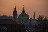 St Nicholas, from Manusev Bridge<br /> Prague