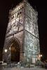 Powder Gate at night<br /> Prague