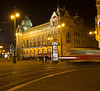 Nam Republiky at night<br /> Prague