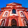 Europe - Czech Republic - Czechia - Bohemia -  Brandýs nad Labem-Stará Boleslav - Kostel Nanebevzetí Panny Marie - Church of the Assumption of the Virgin Mary