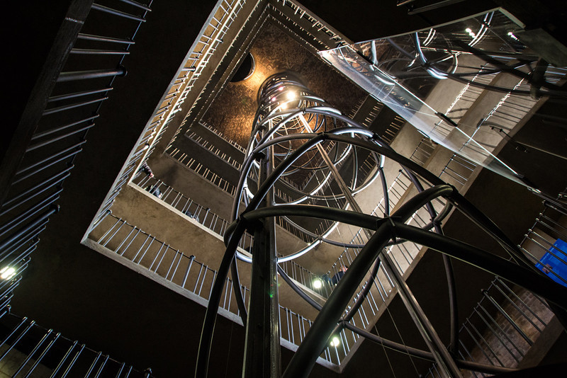 Inside the Old Town Clock Tower<br /> Prague