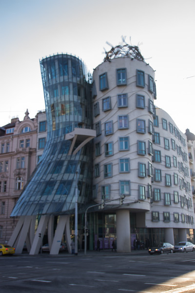 "The Dancing House (""Fred and Ginger"")<br /> Prague"