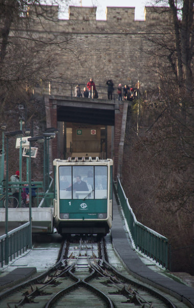 Funicular to Petrin Hill<br /> Prague